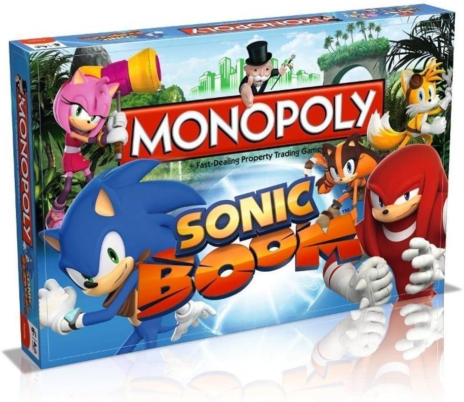 Sonic Boom Monopoly by Monopoly: Amazon.es: Juguetes y juegos