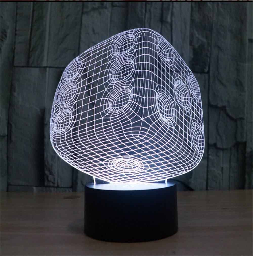 7 - farbverlauf Visual stereo Light Touch 3D LED-illusion Lampe acryl Lampe energiesparendes Licht Nachtlicht