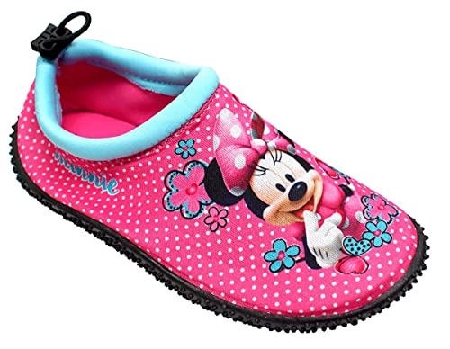 111b6593888 Get wivvit Niña Zapatos para Agua Disney Minnie Mouse Neopreno Piscina Aqua  Playa GB Tallas de