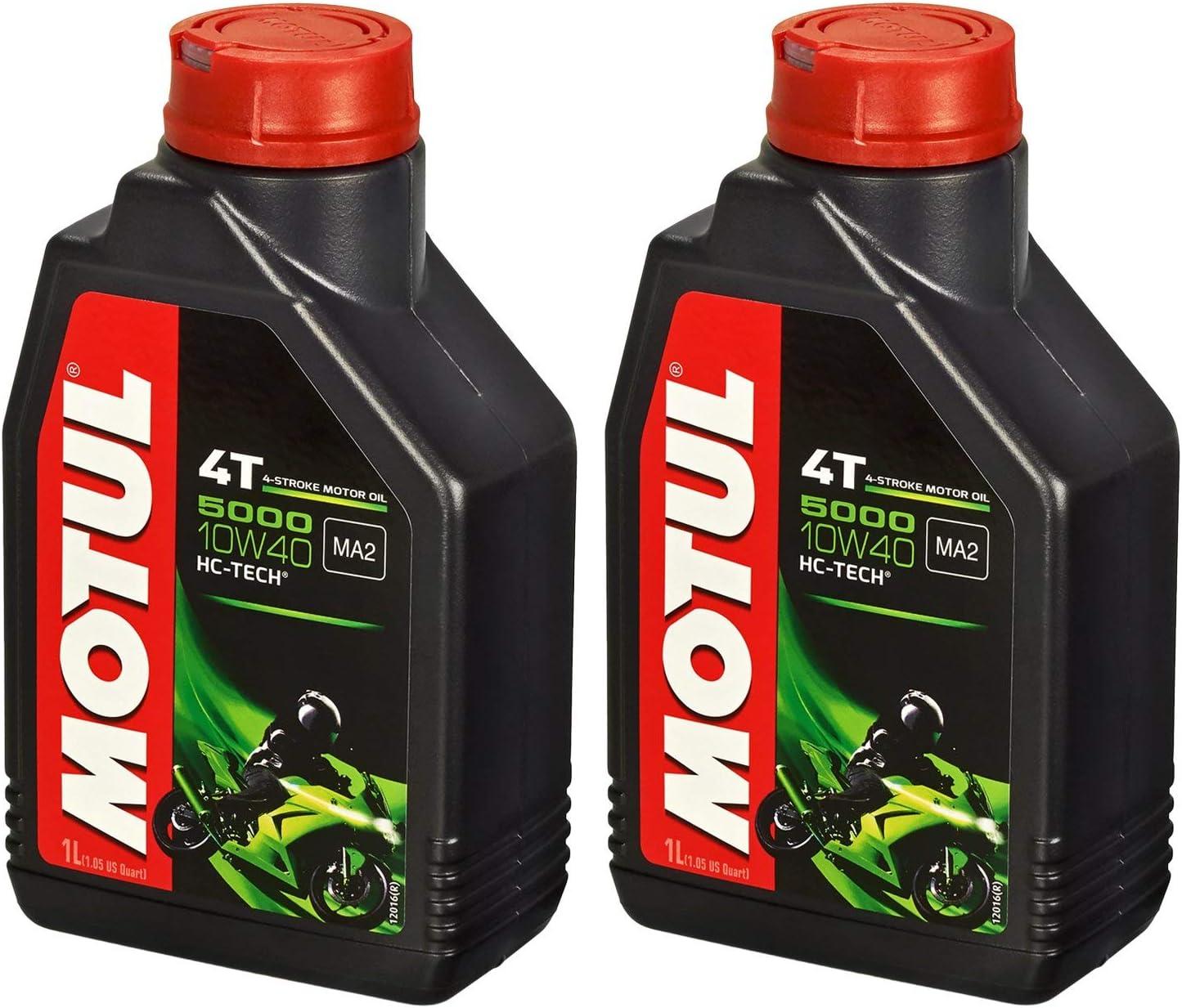 Motul 10w 40 Öl Mahle Ölfilter Für Kawasaki Klx 250 09 15 Lx250s Ölwechselset Inkl Motoröl Filter Dichtring Auto