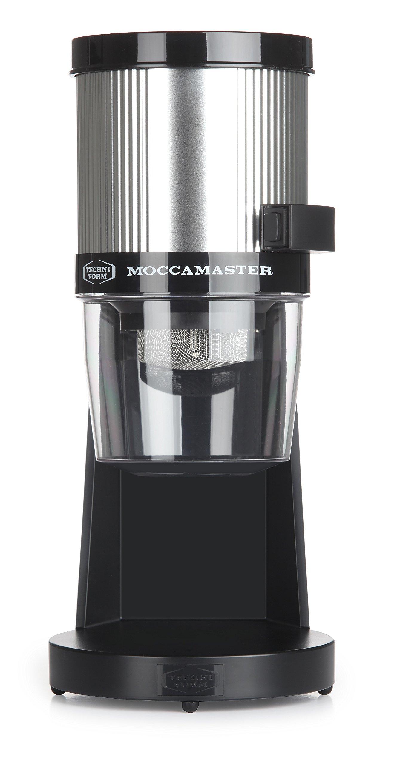 Technivorm Moccamaster 49312 KM4 TT Grinder, 14 oz, Polished Silver Finish by Technivorm Moccamaster