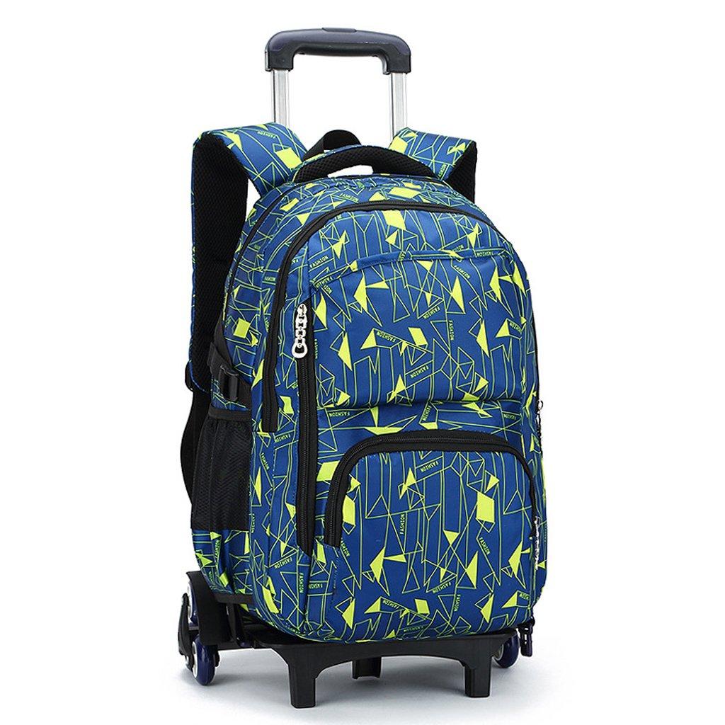 UEK Trolleytasche Rucksack Rollen Rollenreisetasche Schultrolley Schultasche Reisegepäck mit 6 Rollen Trolley Tasche Weiht Trading CO. Ltd