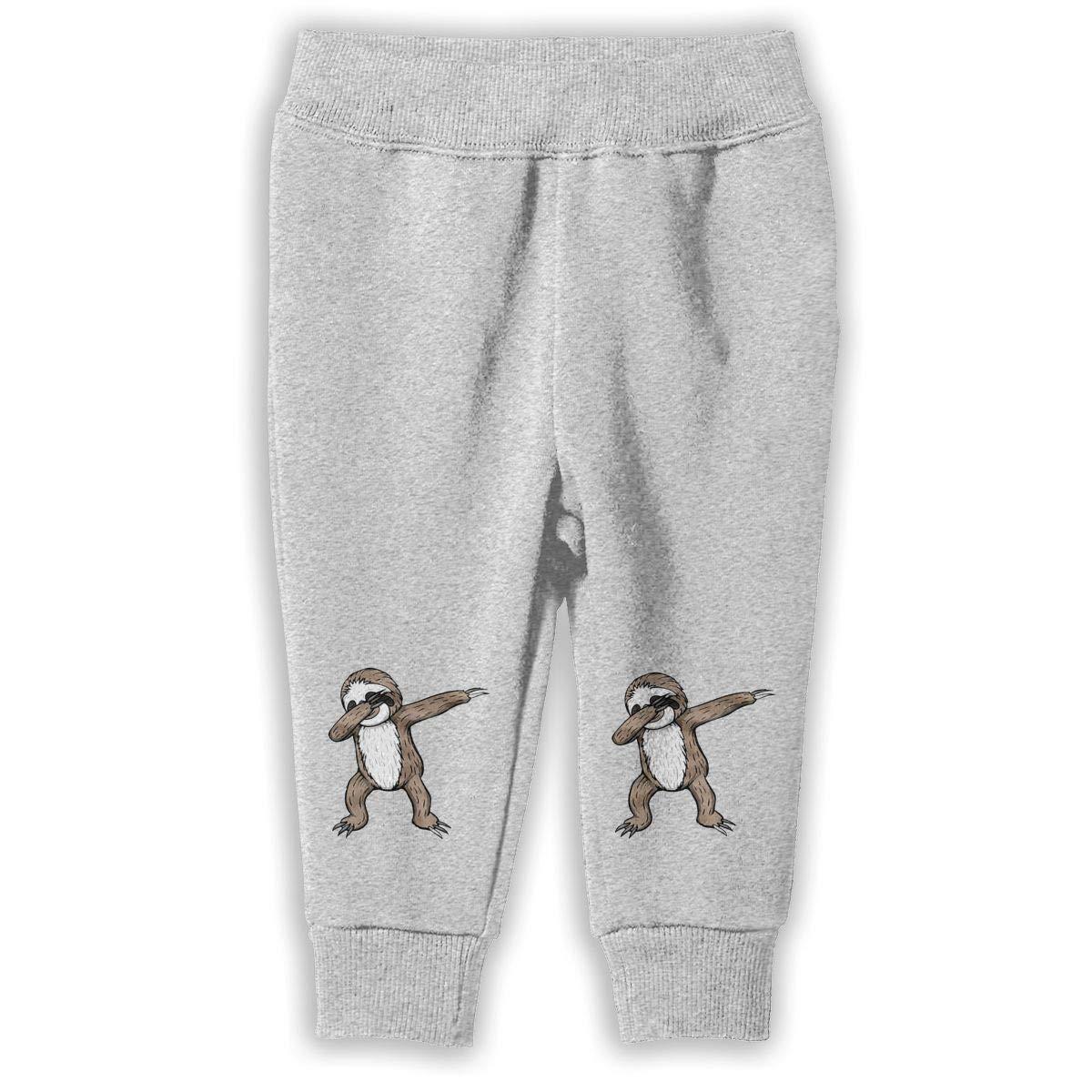 Summermf Dabbing Sloth Child Boys Girls Unisex Sports Sweatpants Kids Casual Jogger Pants