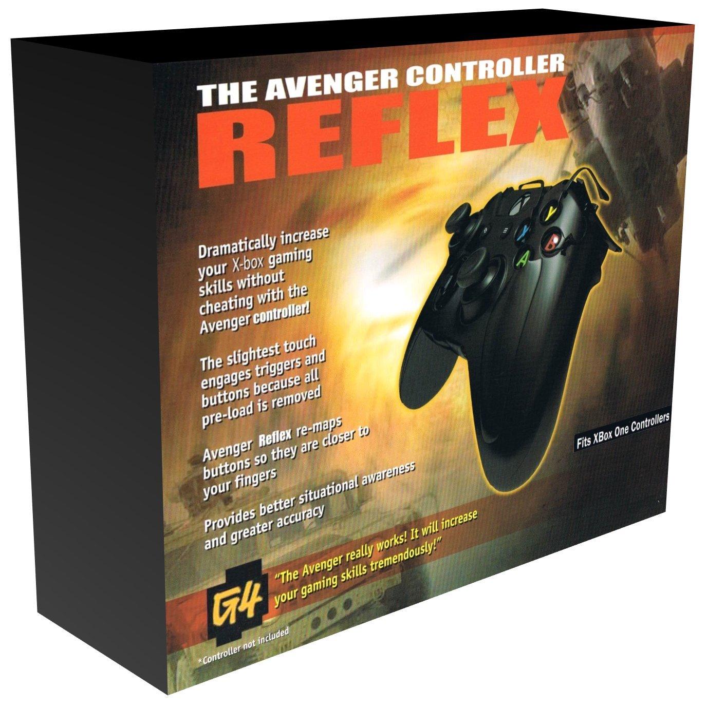 Xbox One Avenger Reflex Cheat-Controller-Erweiterung 2018, nicht für Xbox  One S (Aufsatz ohne Controller): Amazon.de: Games