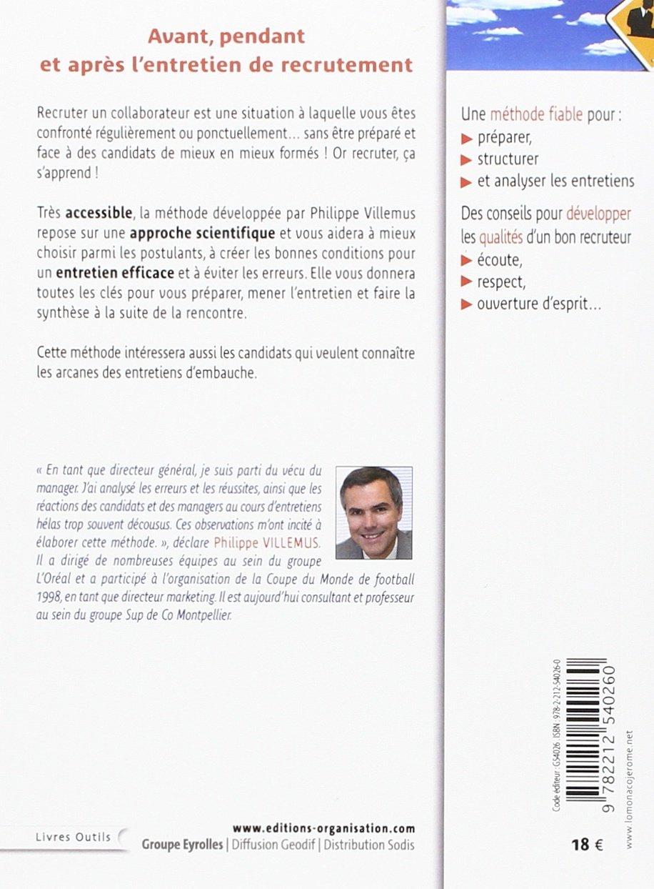 Amazon Fr Faire Passer Un Entretien De Recrutement Methode A L