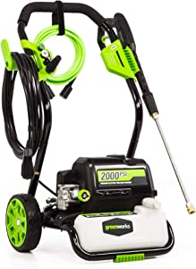 Greenworks GPW2000-1 2000 PSI 1.2 GPM Electric Pressure Washer
