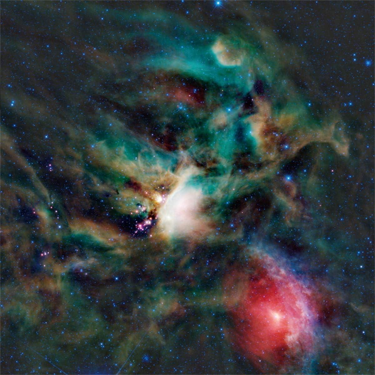 Yeele Galaxy Backdrop Nebula Night Sky Rho Astronomy Photography Background 10x10ft Sci-fi Events Decor Artistic Portrait YouTube Channel Photoshoot Props