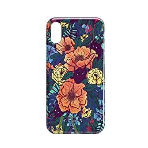 Covery Cases Flowers Mobile Cover For iPhone XS Max - Multi Color