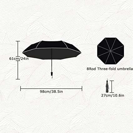 10.6x3.9inch Demon Slayer Kimetsu No Yaiba Folding Umbrella,tanjiro Portable Lightweight Windproof Travel Umbrella Sun Rain Anime Fan Manual 27x10cm
