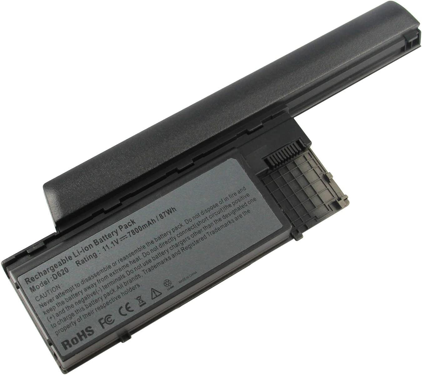 ARyee 7800mAh 11.1V Battery Laptop Battery Replacement for Dell Latitude D620 D630 D631 D640 D630C D630N D630 ATG D630 UMA D630N Precision M2300
