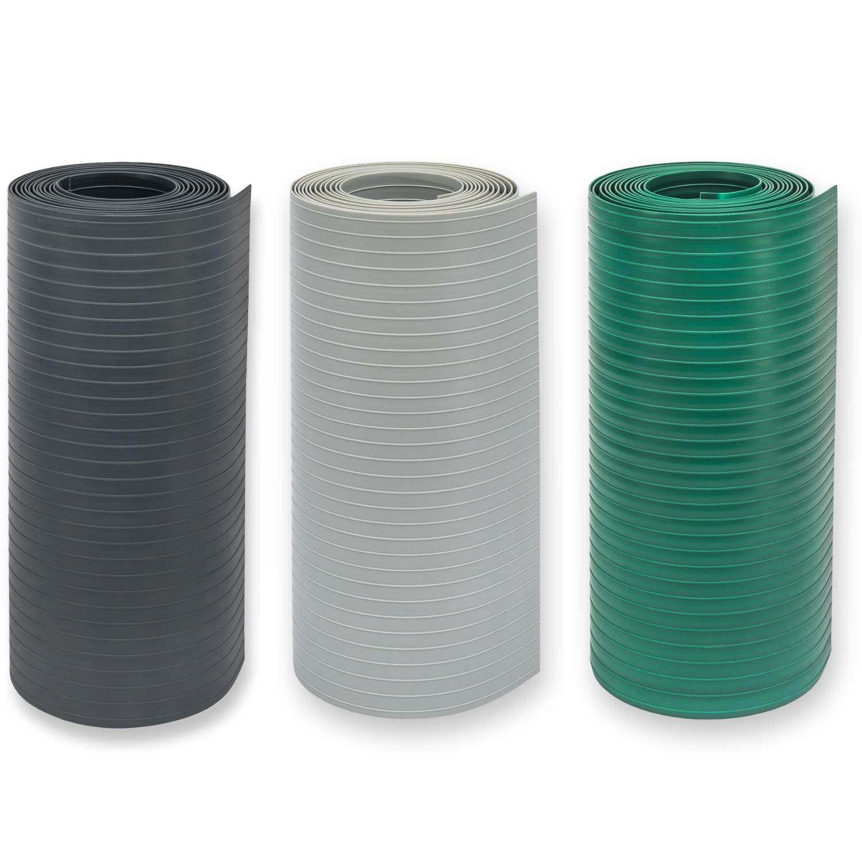 1,55 mm stark Hart PVC Premium Zaunblende zum Einflechten Doppelstabmatten Zaun