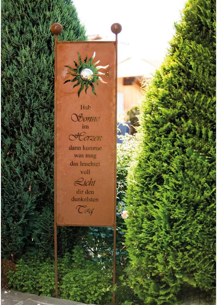 Sweet Home Home Deluxe Edelrost Gartenschild