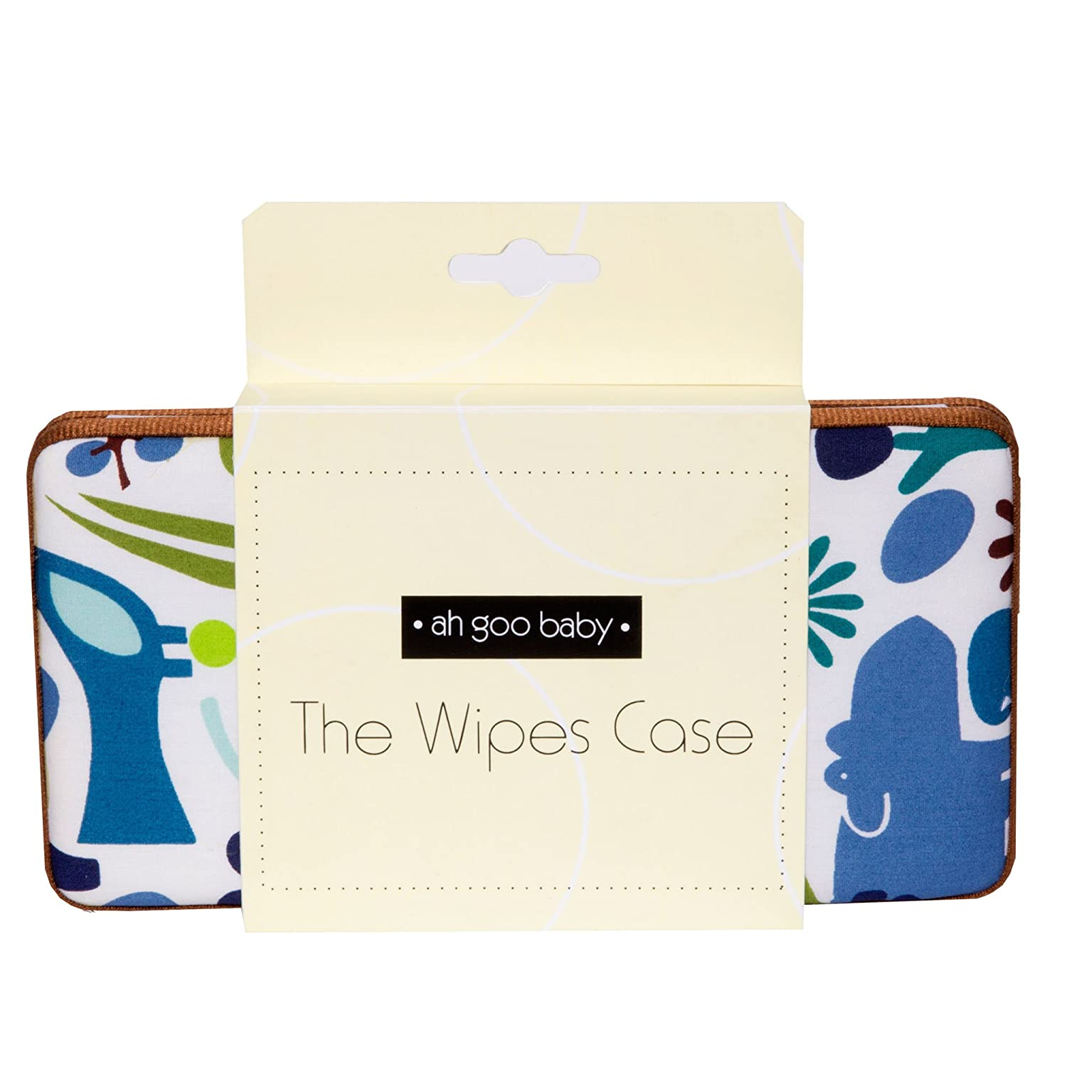 Ah Goo Baby Wipes Case Bloom Pattern On-The-Go Travel Size