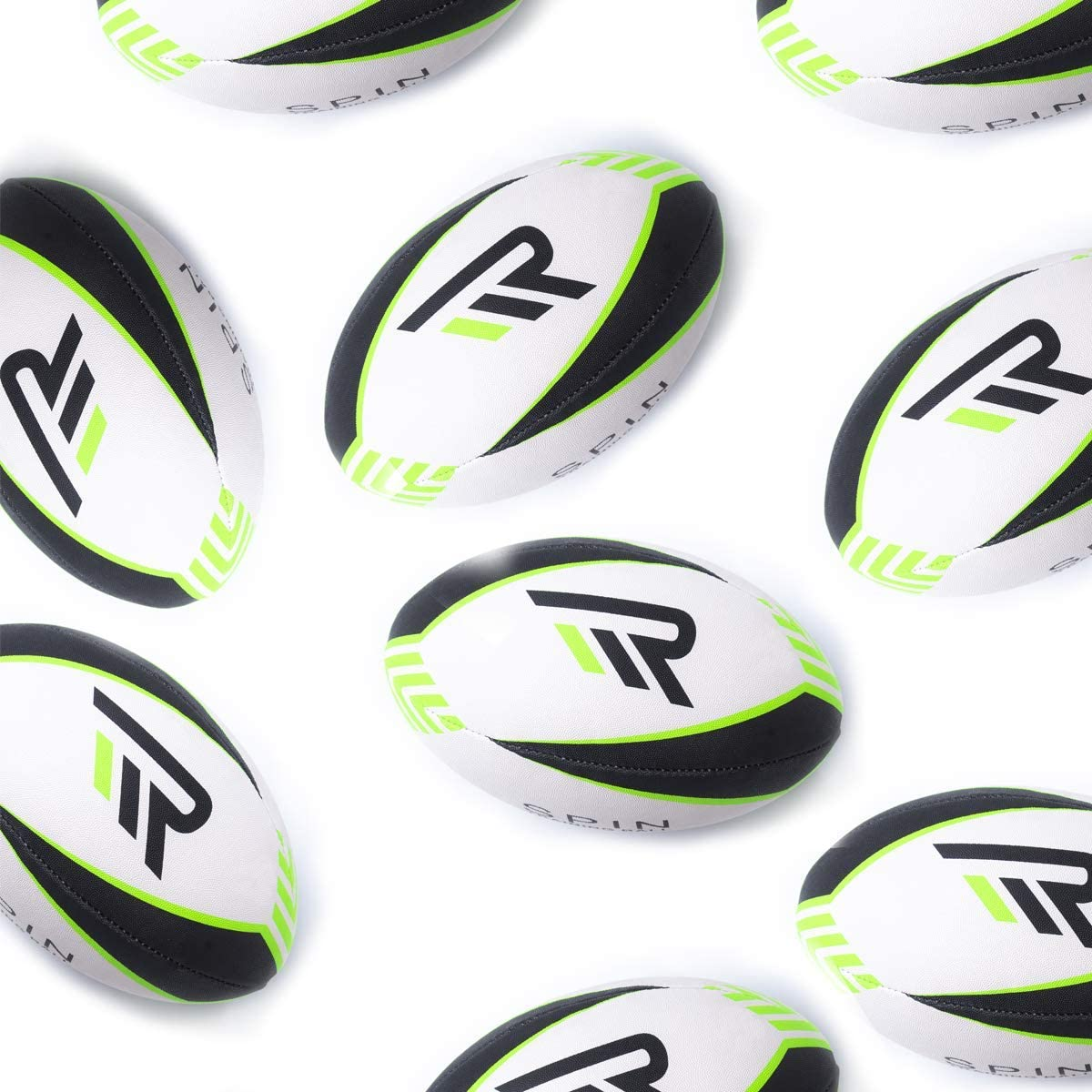 Spin Training Ball - Pelota de Rugby (tamaño 5-20): Amazon.es ...