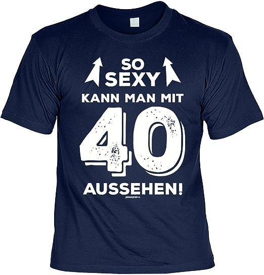 Geschenk Zum 40 Geburtstag 40 Jahre Geburtstagsgeschenk T Shirt So