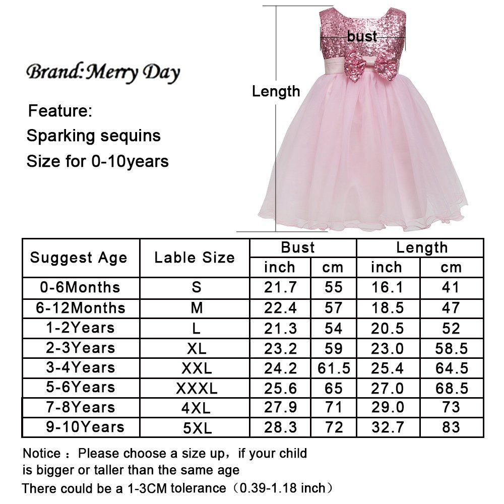 b538a7dd216f2 Details about Merry Day Flower Girl Dress for Wedding Birthday Party  Pageant,Fluffy Tulle