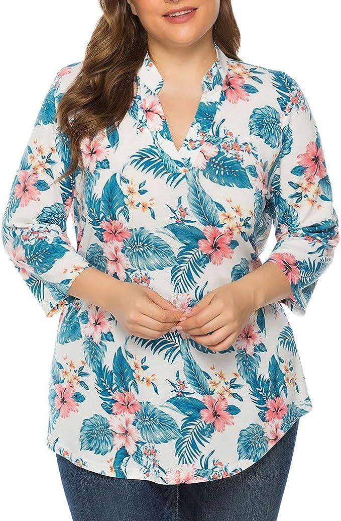 Camisas Mujer Algodón Blusa Mujer Elegante Top de Manga