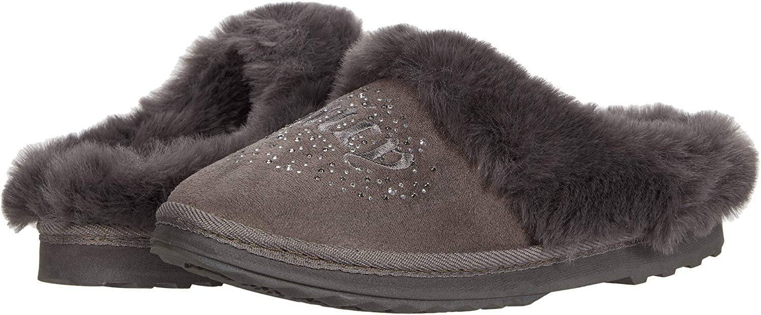 Juicy Couture Jester Fuzzy Slipper for Women