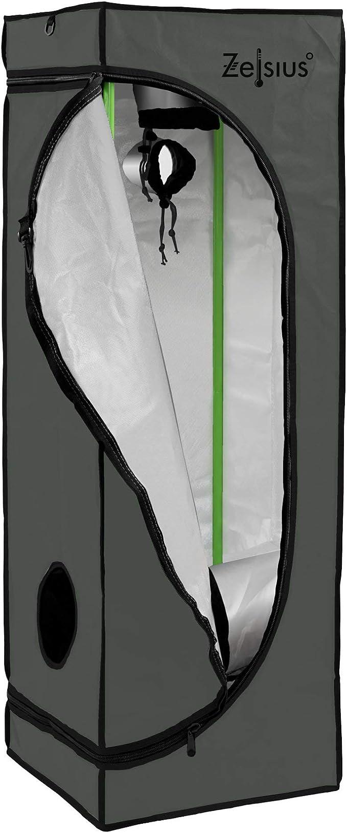 240 * 240 * 200CM U-Kiss Growzelt Anbauzelt Gew/ächszelt Zuchtschrank f/ür Pflanzenzucht zuhause Darkroom Pflanzenzelt Gew/ächshaus Zuchtzelt