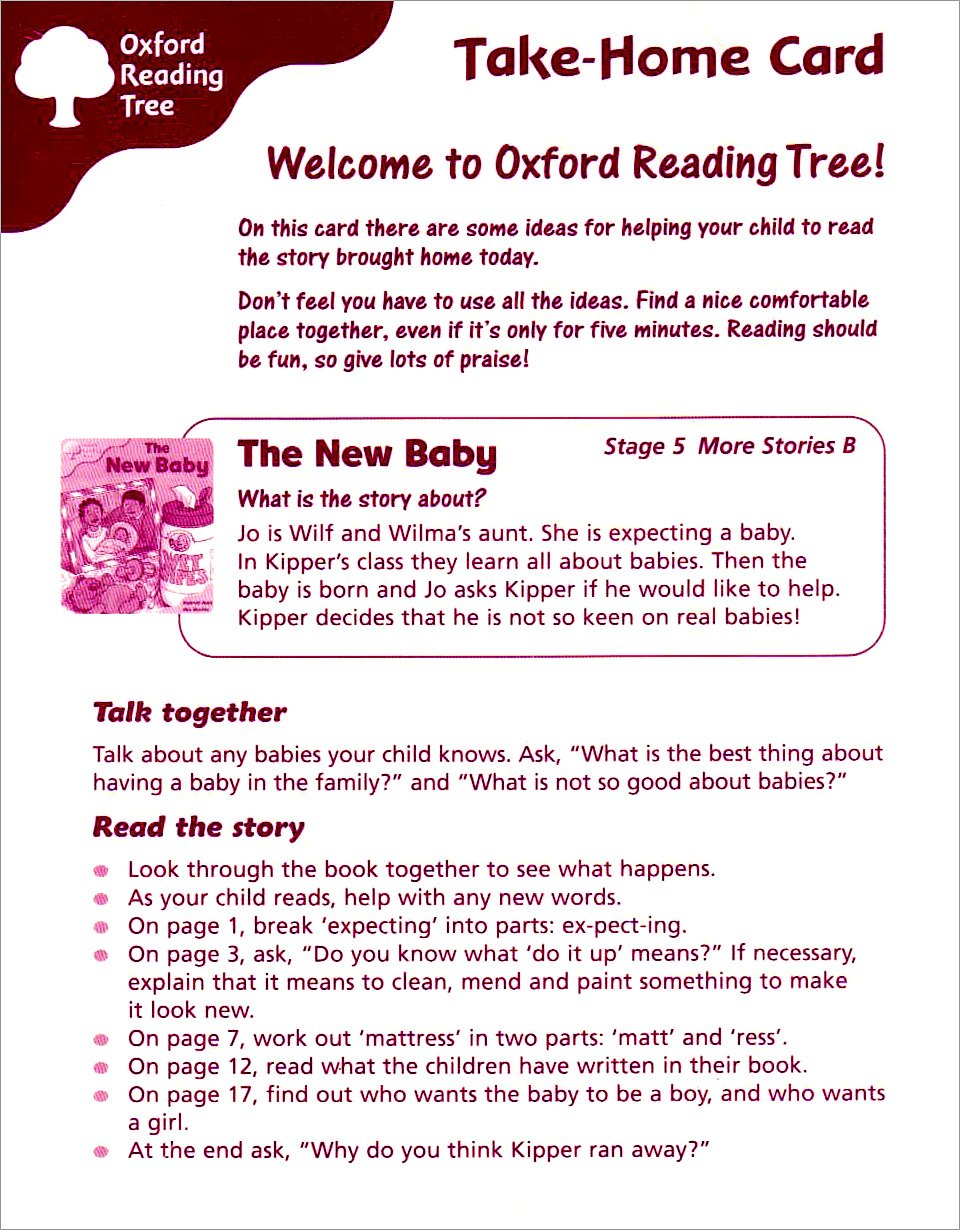 Read Online Oxford Reading Tree: Stage 5: More Storybooks: Take-home Cards B pdf epub