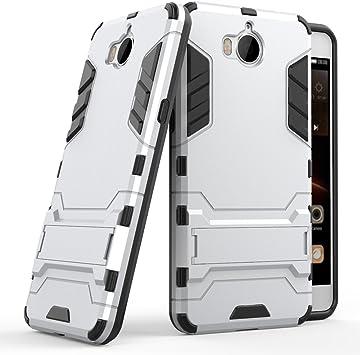 Huawei Y6 2017 Funda, SMTR Ultra Silm Híbrida Rugged Armor Case ...
