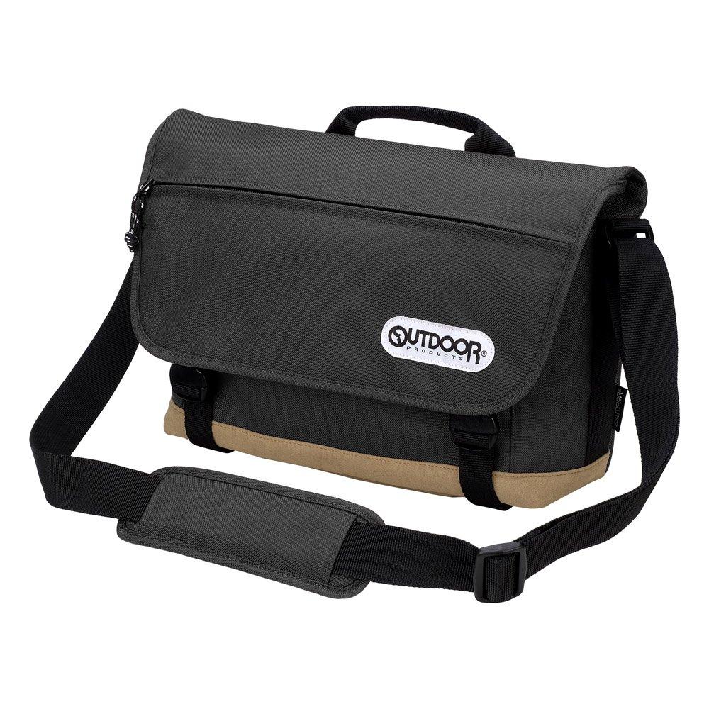OUTDOOR PRODUCTS (アウトドアプロダクツ) カメラショルダーバッグ02 7.1L ブラック ODCSB02BK B010CM1MAC ブラック