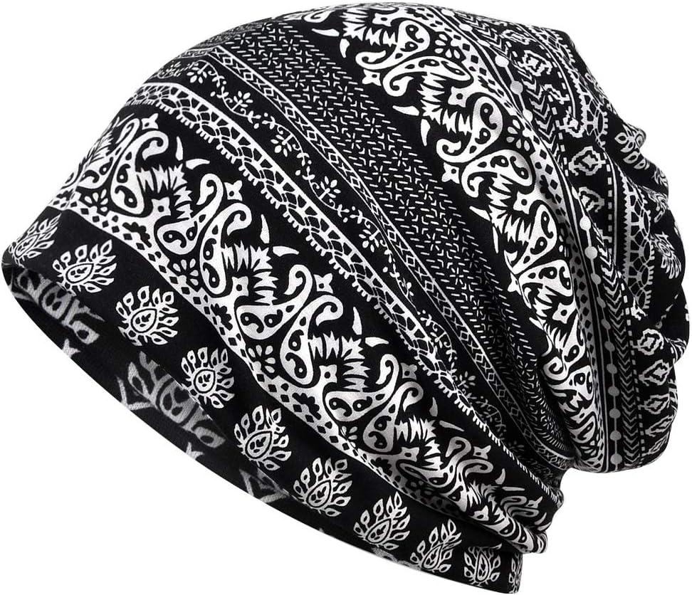 Amorar Damen Baumwolle Elastisch Longbeanie Kopftuch Schal Turban Headwear Chemo Beanie Schal Headwear Kappe Schal f/ür Krebs Haarausfall,EINWEG Verpackung Chemo