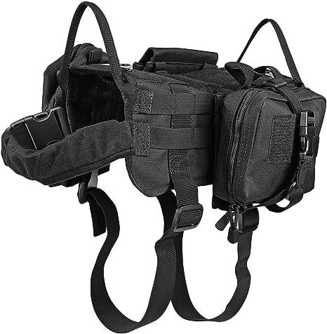 Arnés táctico para entrenamiento de perro, para proteger al perro ...