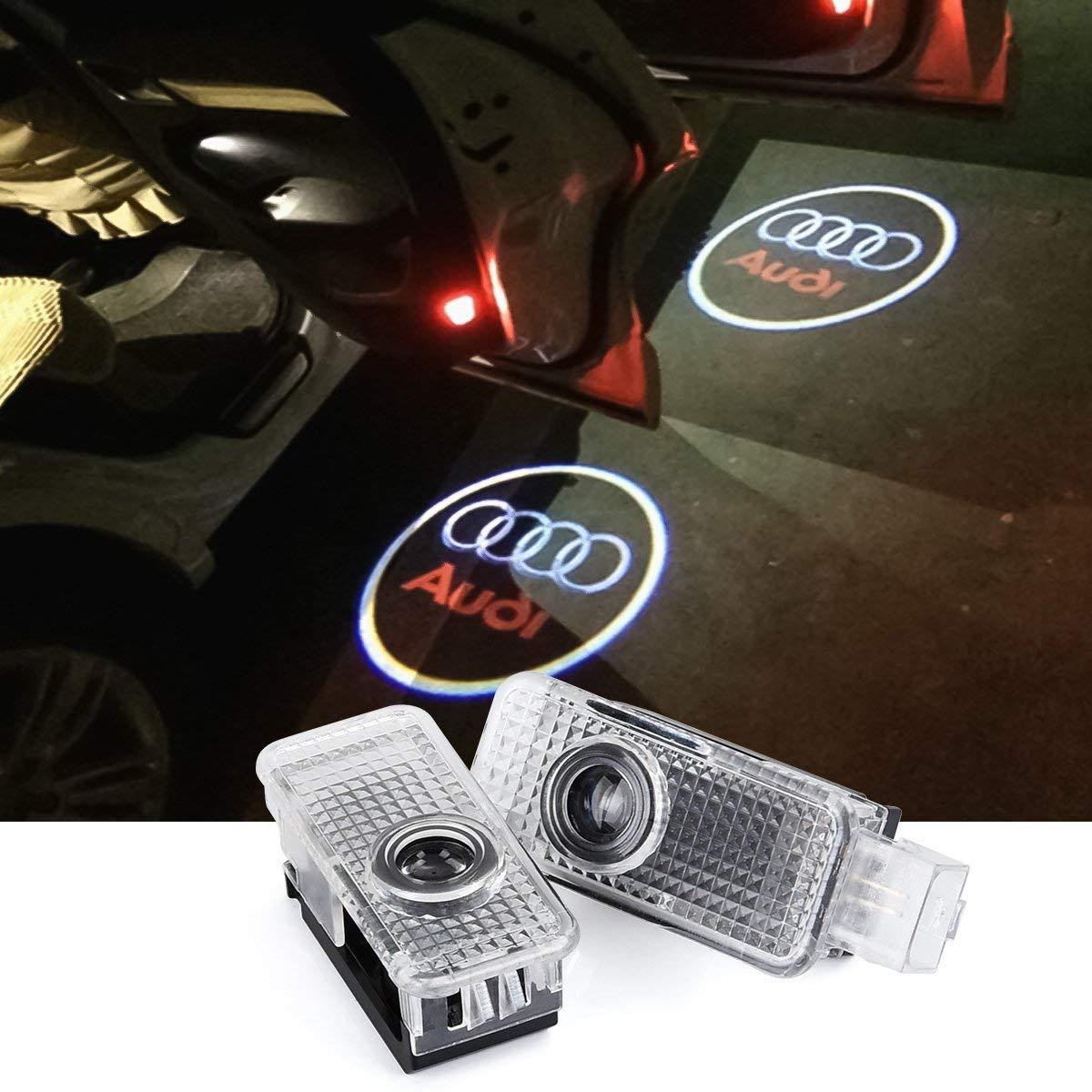 2 x LED Einstiegsbeleuchtung Tü r Licht Logo Projektor Licht Logo Leuchten Upgrow