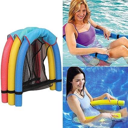 Amazon.com: Kindsells - Silla flotante para piscina, suave ...