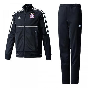 Adidas Fcb Y Niños Bayern Suit Fc Pes Munich Negro Chándal De rrwxgRq