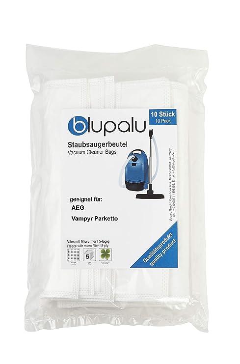 /10/bolsas para aspiradoras AEG/ Incluye Micro de filtro /Aspiradora de dustwave/® Marca Bolsa para el polvo Fabricado en Alemania Pack de ahorro/ /Vampyr 761/I/