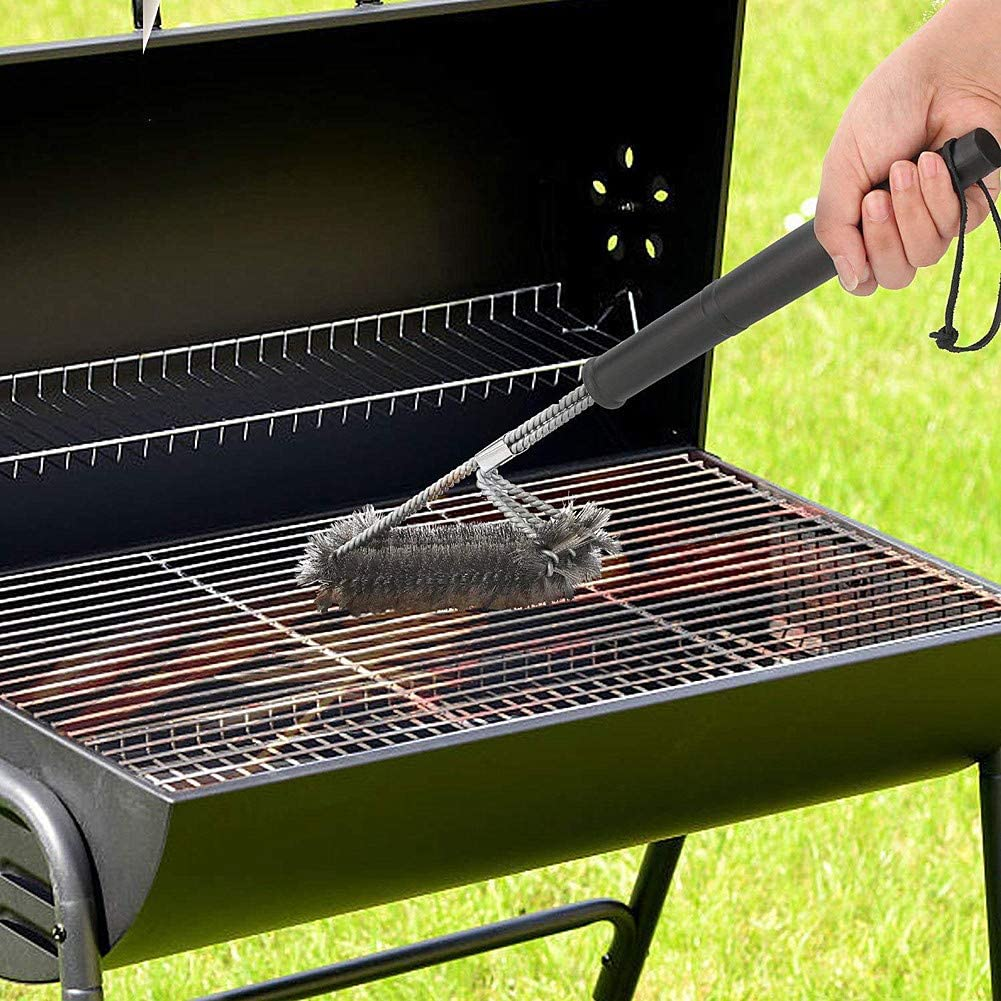 Gofeibao Brosse Barbecue Grill Brosse Barbecue Vapeur Barbecue Nettoyeur À Vapeur Brosse Barbecue Vapeur Cleaner Brosse Grill Brosse A B