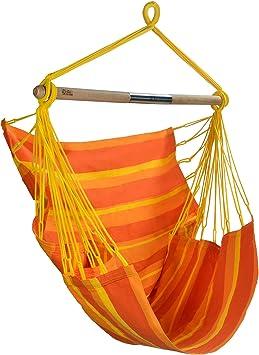 Amalyssa - Chaise Hamac Papaya - Toile Résistante - Confort ...