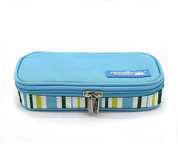 Stars Oilcloth Single EpiPen Case  Insulin Pen Case with Medical ID Card Vinyl-Coated