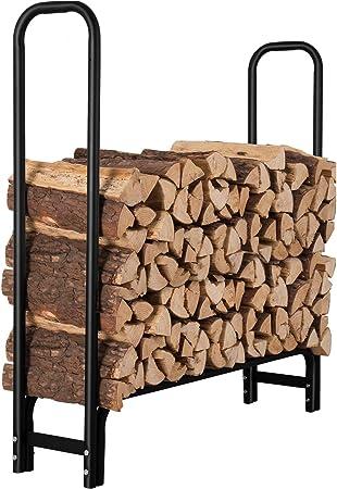 Amazon Com Orientools 4 Feet Firewood Log Rack Fireplace Wood