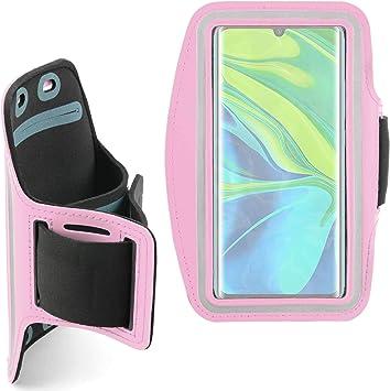 DURAGADGET Brazalete Deportivo Rosa Compatible con Smartphone Xiaomi Mi Note 10, Xiaomi Mi Note 10 Pro, Xiaomi Mi 9 Lite, Xiaomi CC9 Pro: Amazon.es: Electrónica