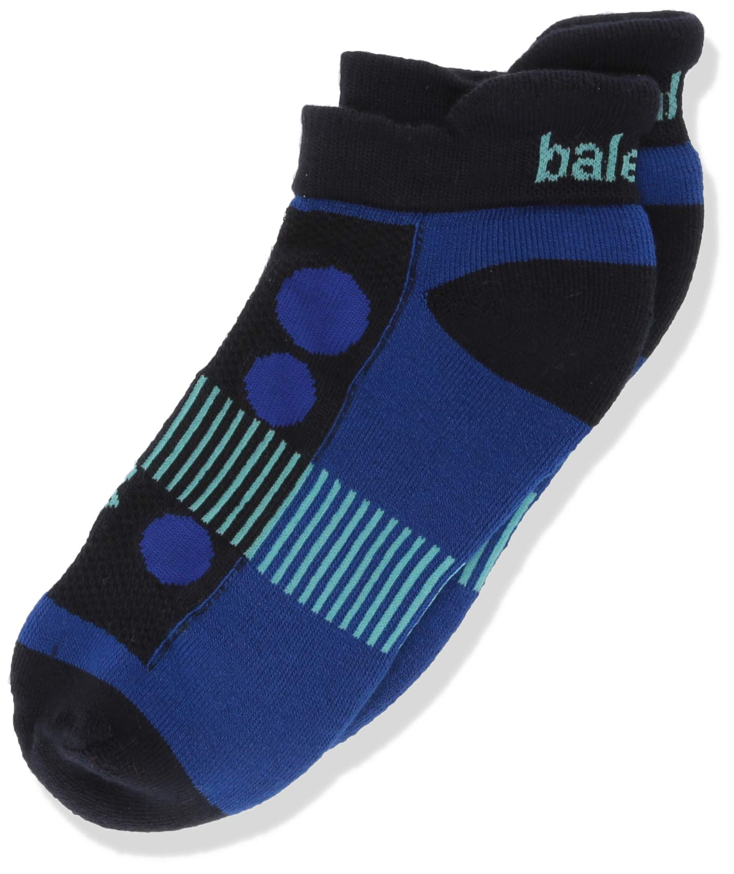 Balega Kids Hidden Cool Socks (1 Pair), Navy/Cobalt, Large by Balega