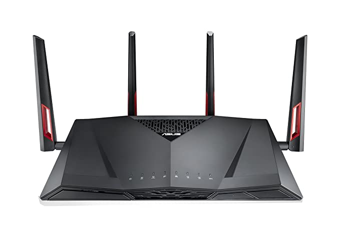 Best Router for Gaming and Security- Asus RT-AC88U Wireless