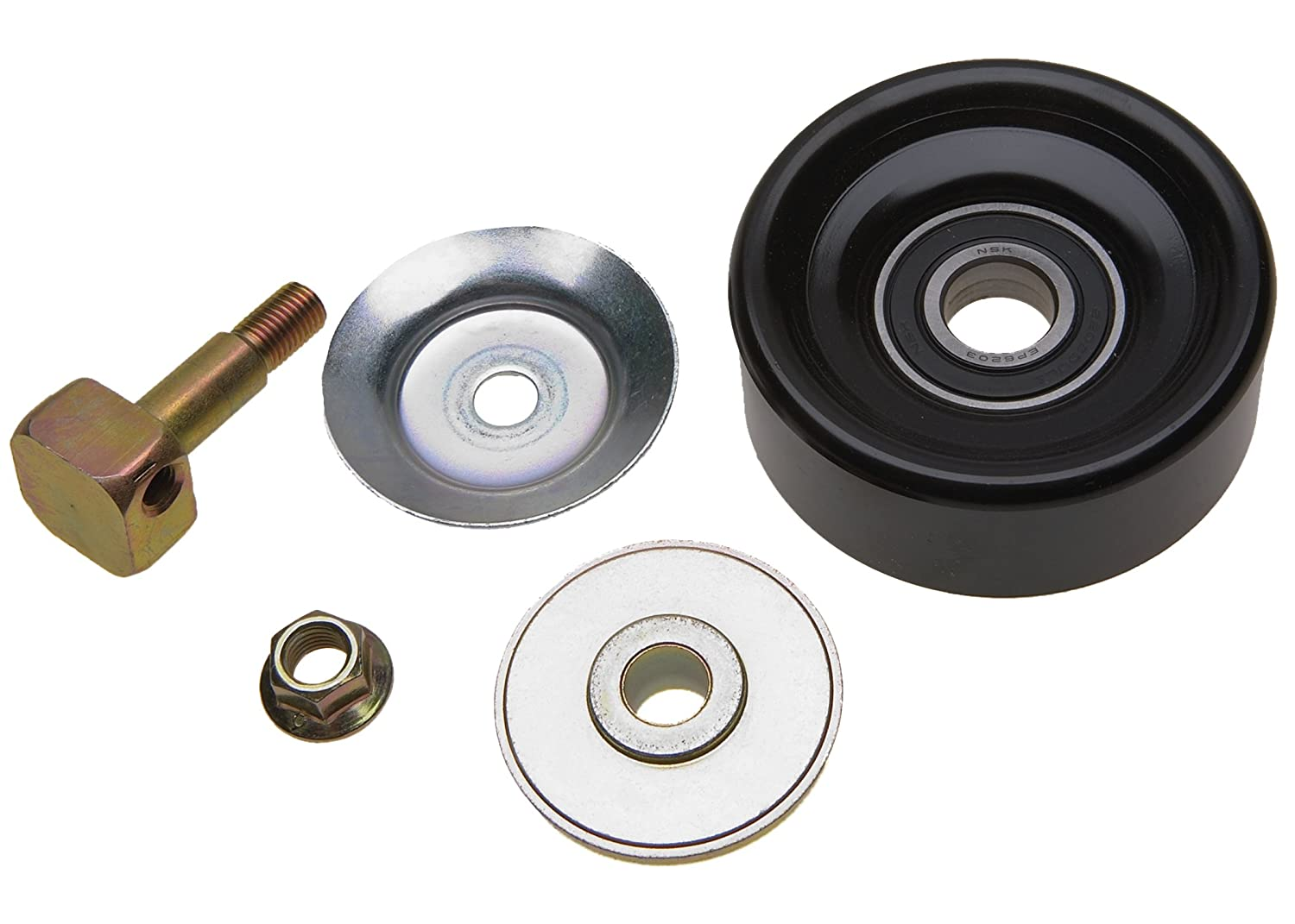 ACDelco 36142 Professional Idler Pulley with Bolt, 2 Dust Shields, and Nut 36142-ACD