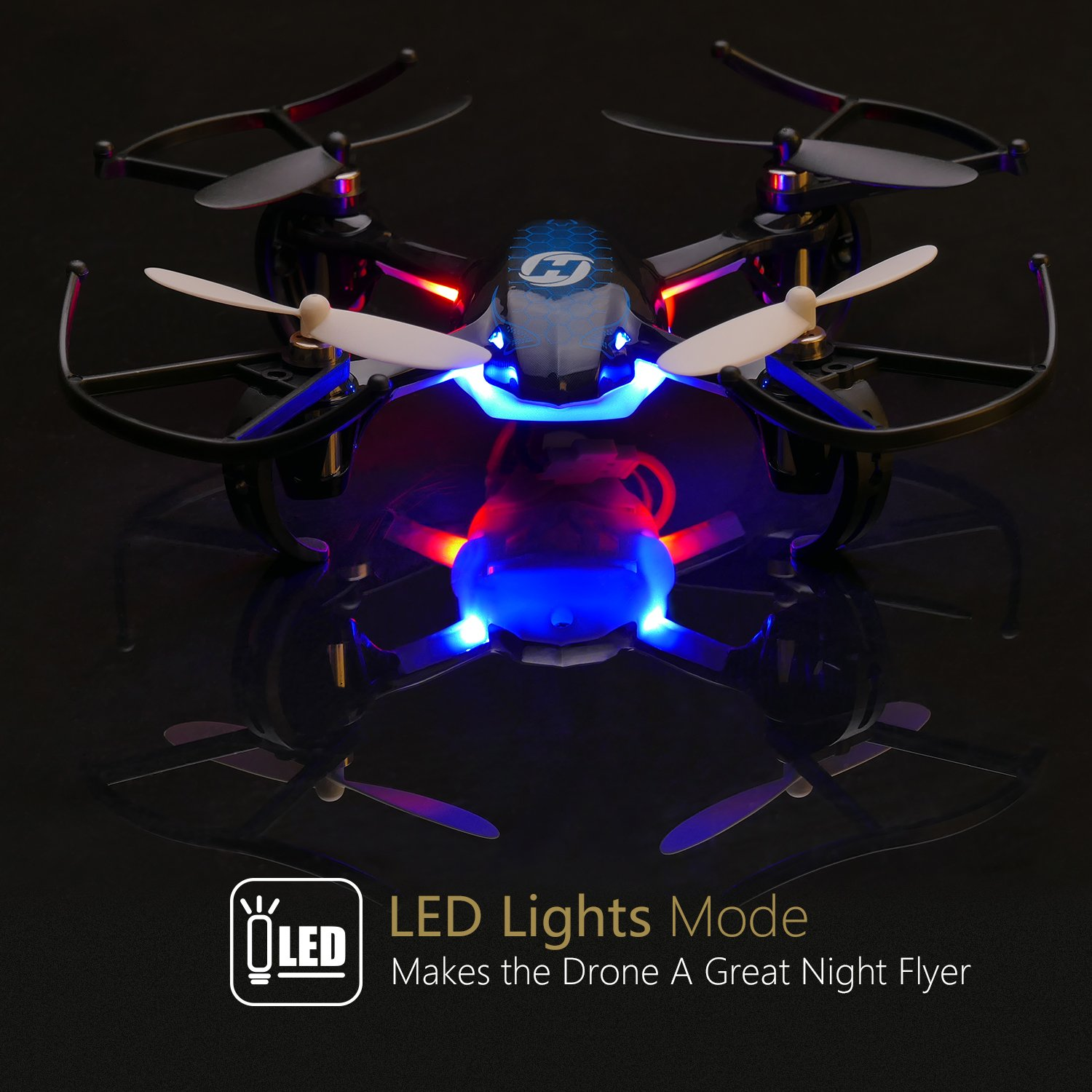 Holy Stone Helicopter Drone Quadcopter makes a great night flyer