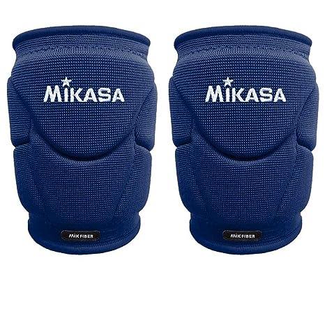 genuino in vendita vendita online Mikasa Mt9 Kinpy Coppia Ginocchiere Volley Pallavolo Professionale Blu Scuro
