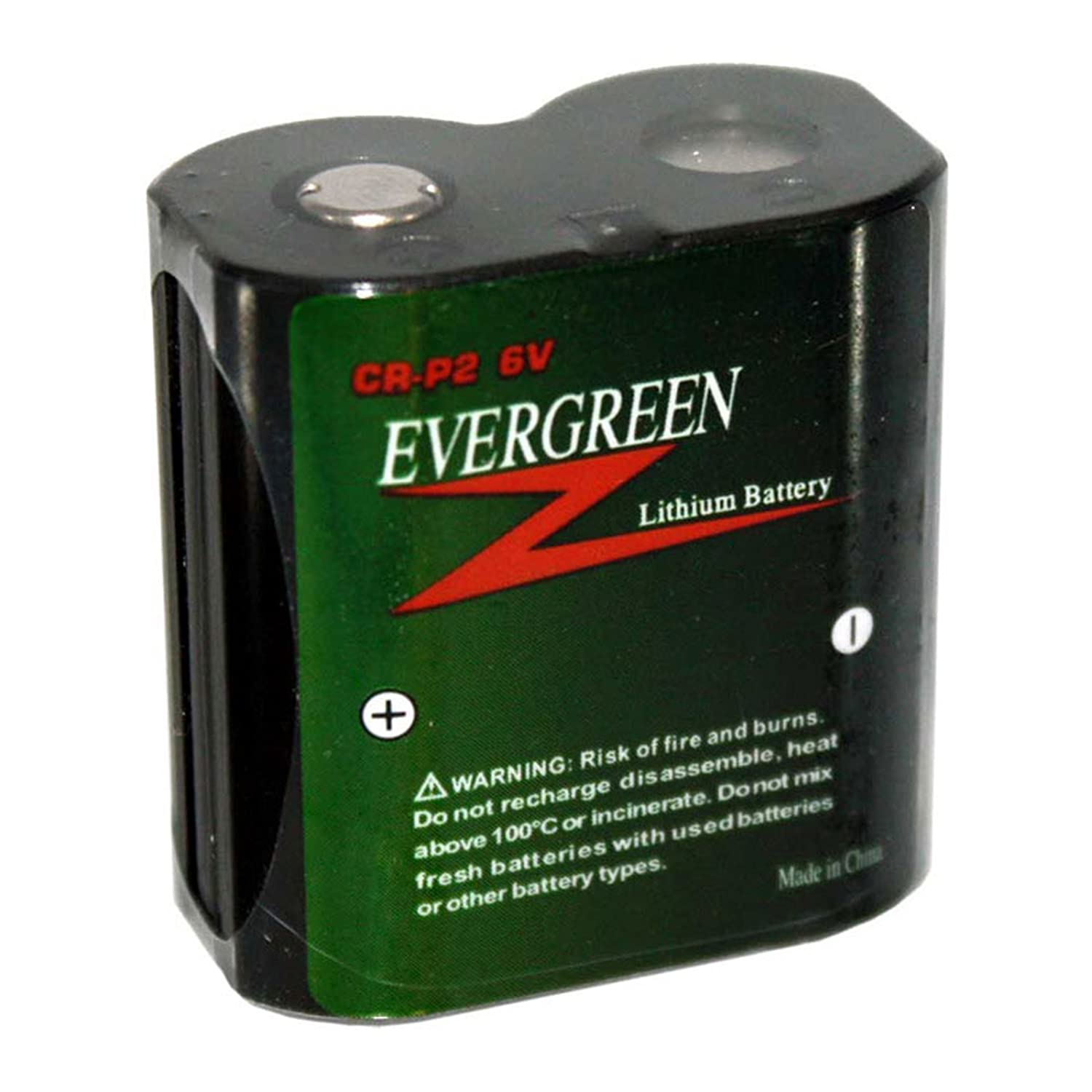 Evergreen CR-P2 Photo Lithium Battery Replacement