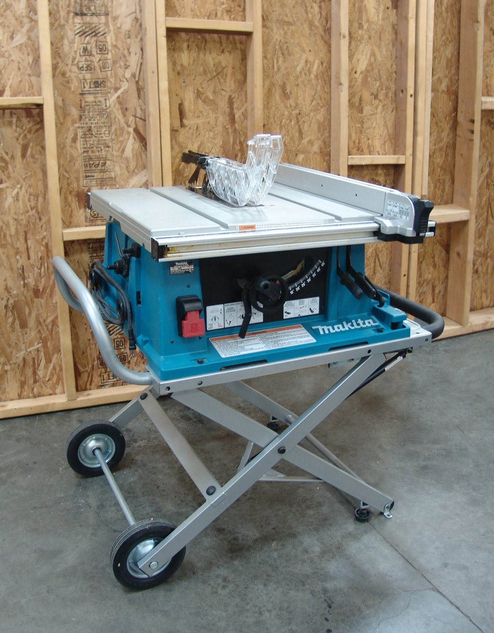 Makita 2705x1 10 Inch Contractor Table Saw With Stand Power Wiring Diagram 120v Saws