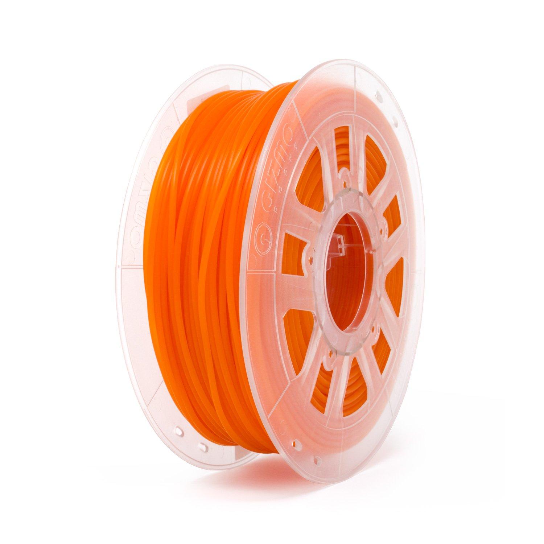 Translucent Orange 2.2lb for 3D Printers Gizmo Dorks 1.75mm PLA Filament 1kg