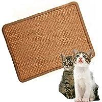 LPLED Cat Scratching MatNatural Sisal Cat MatProtection Play Scratcher Pad