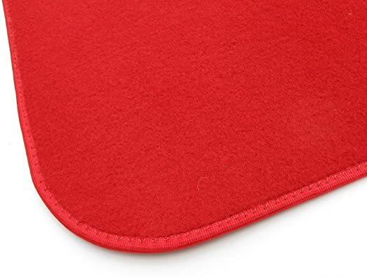 Koeckritz Rugs RED Carpet Area Rug 7 x9 Indoor Outdoor Durably Soft