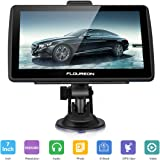 FLOUREON GPS de Coches Navigation Pantalla LCD capacitiva de 7 Pulgadas Sat Nav Navigator para camión