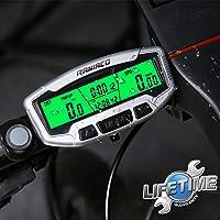 RANIACO Contachilometri Bici, Ciclocomputer,Impermeabile Computer da Bicicletta per Tachimetro Computer Bici Ciclocomputer GPS con Display Retroilluminato,Distanza,velocità,Tempo