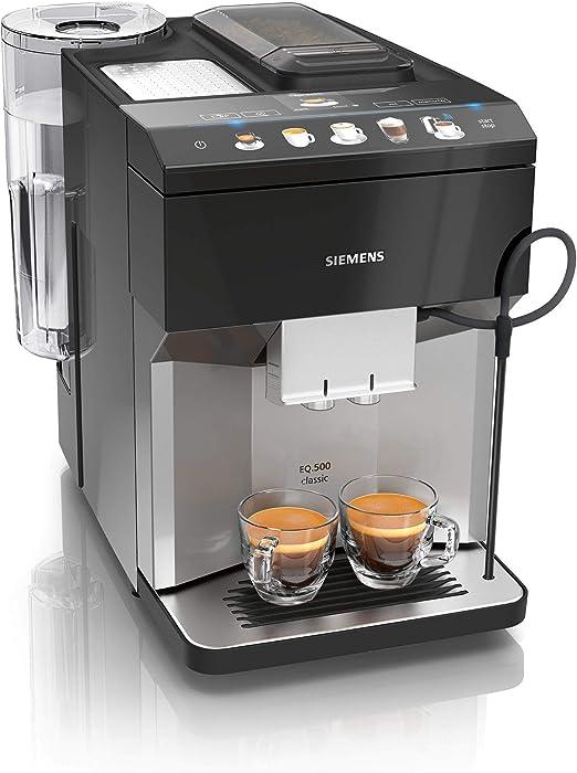 Siemens EQ.500 Classic Cafetera automática, 1500 W, 1.7 litros ...